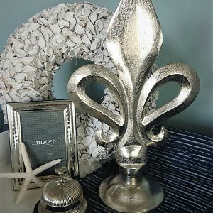 Ornament Französische Lilie Silber