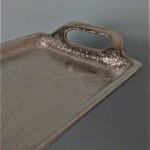 Silbertablatt Dekoration