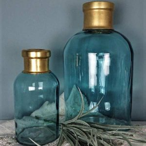 dekorative Glasvasen für Haus und Garten