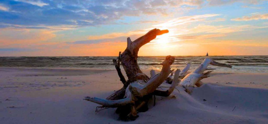 Ostsee maritime Stimmung